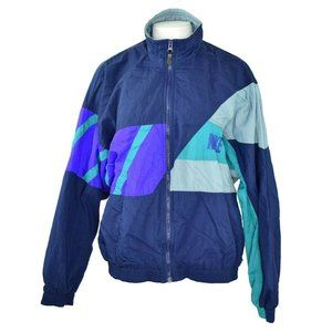 Nike Nylon Zipper Front Lined Windbreaker Jacket